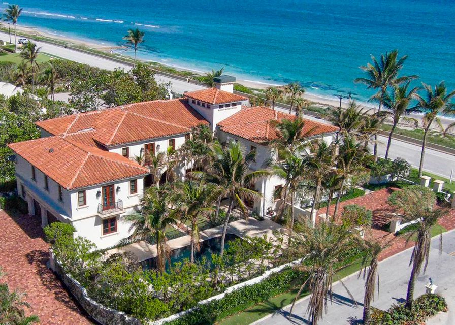 Single Family Home for Sale at 1620 S Ocean Boulevard 1620 S Ocean Boulevard Palm Beach, Florida 33480 United States