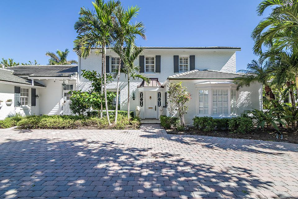 Single Family Home for Sale at 3510 N Flagler Drive 3510 N Flagler Drive West Palm Beach, Florida 33407 United States
