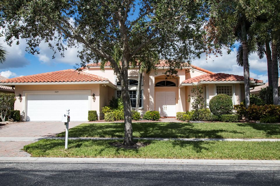 CASCADE LAKES home 5419 Landon Circle Boynton Beach FL 33437