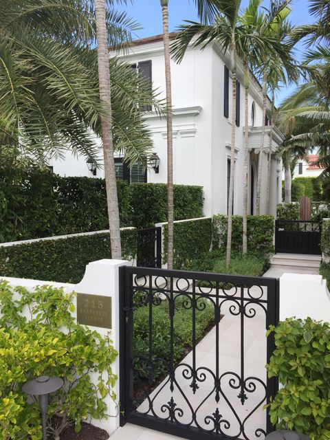 215 Seabreeze Avenue  Palm Beach FL 33480