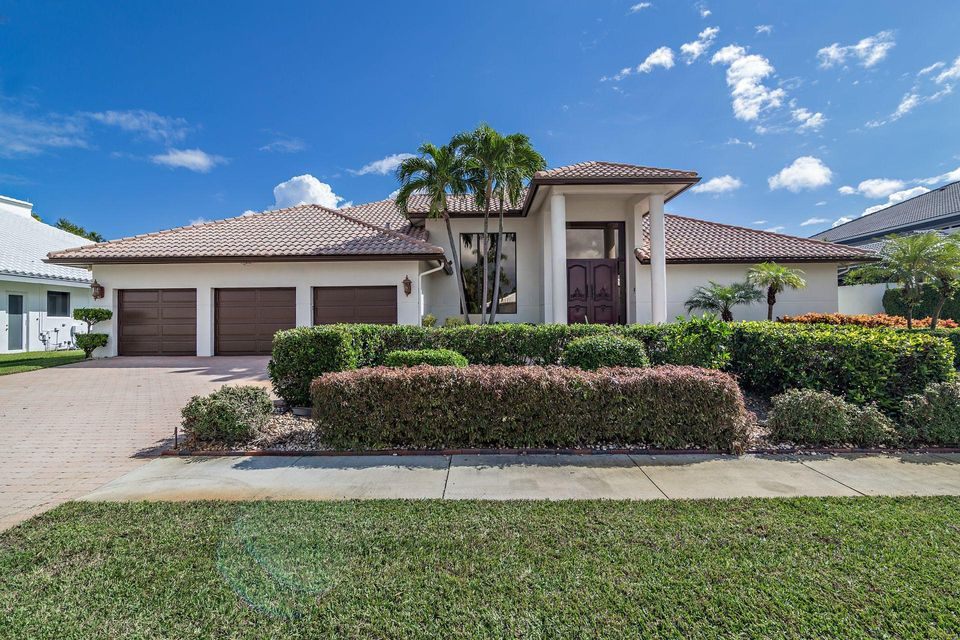 Home for sale in Bocaire Golf Club Boca Raton Florida