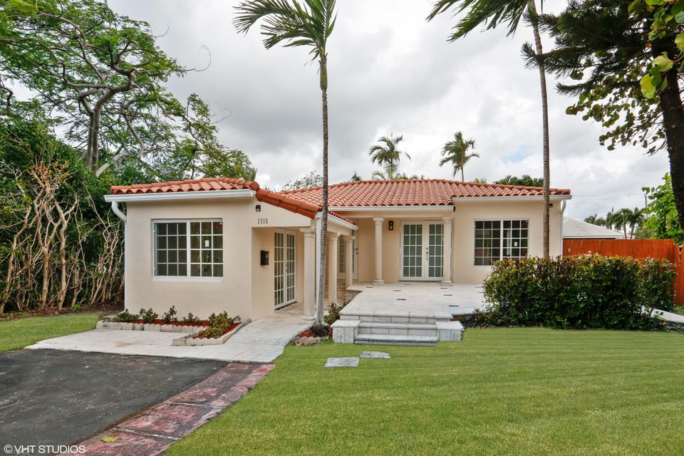 Home for sale in Biscayne Point Miami Beach Florida