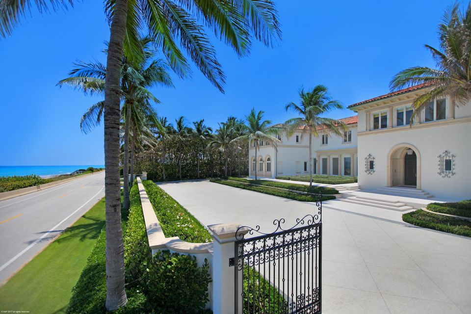 Single Family Home for Sale at 1744 S Ocean Boulevard 1744 S Ocean Boulevard Palm Beach, Florida 33480 United States