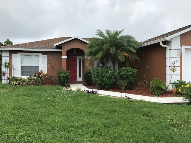 5755 NW Belwood Circle Port Saint Lucie, FL 34953 - MLS #: RX-10375665