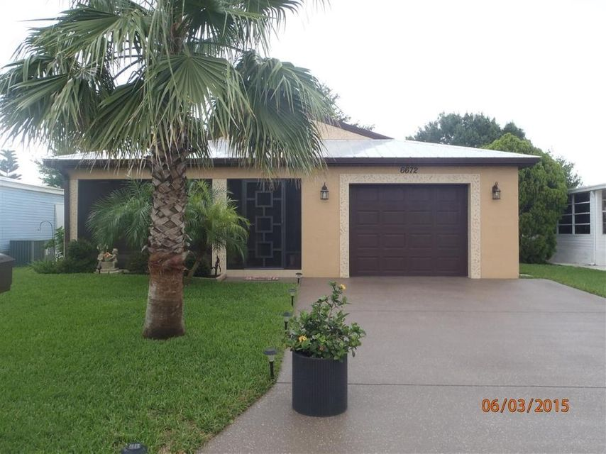 6672  Lila Court is listed as MLS Listing RX-10382401 with 1 pictures
