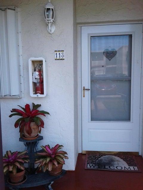Condominium for Sale at 2601 Boundbrook Boulevard # 113 2601 Boundbrook Boulevard # 113 Palm Springs, Florida 33406 United States