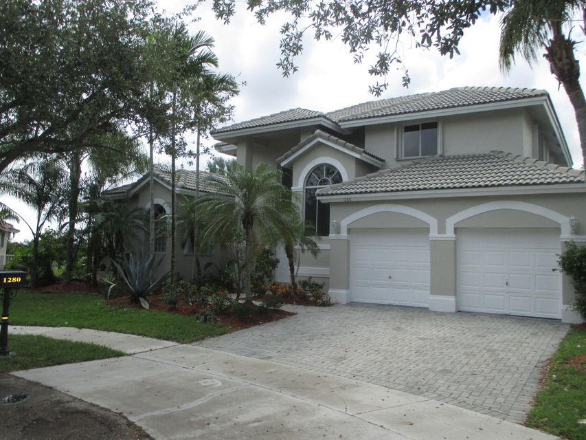 Single Family Home for Sale at 1280 SW 177th Terrace 1280 SW 177th Terrace Pembroke Pines, Florida 33029 United States