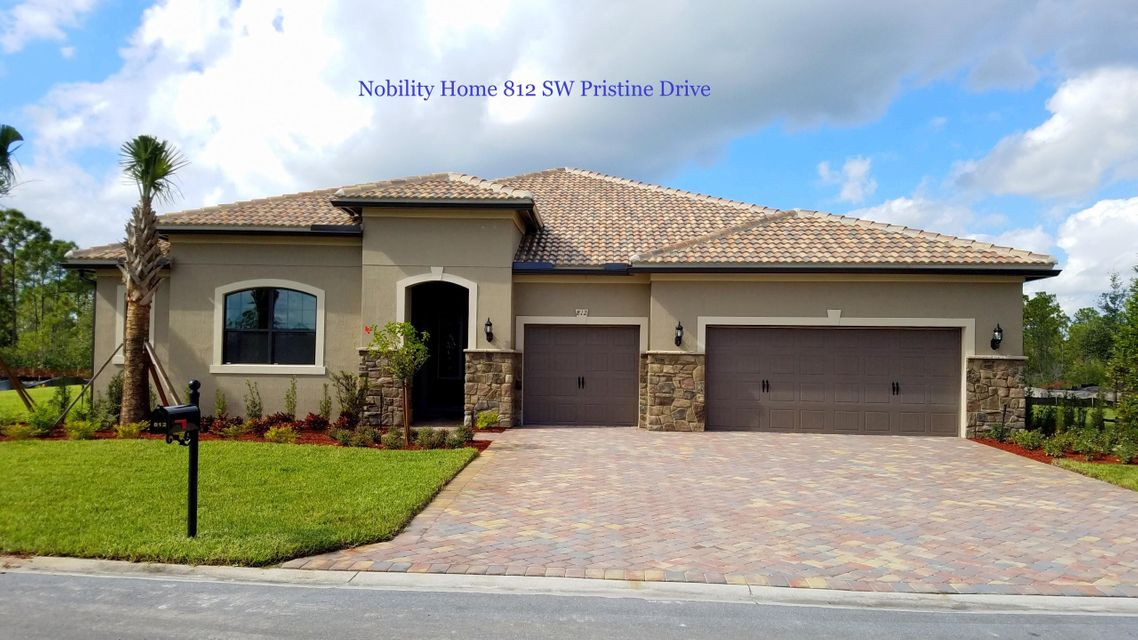 Single Family Home for Sale at 812 SW Pristine Drive 812 SW Pristine Drive Palm City, Florida 34990 United States