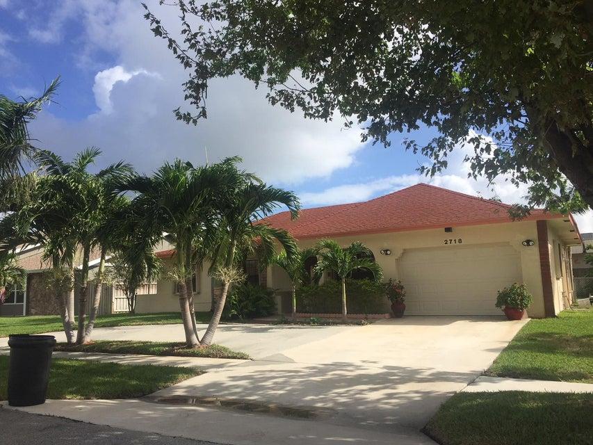 2718 Starwood Court  West Palm Beach, FL 33406