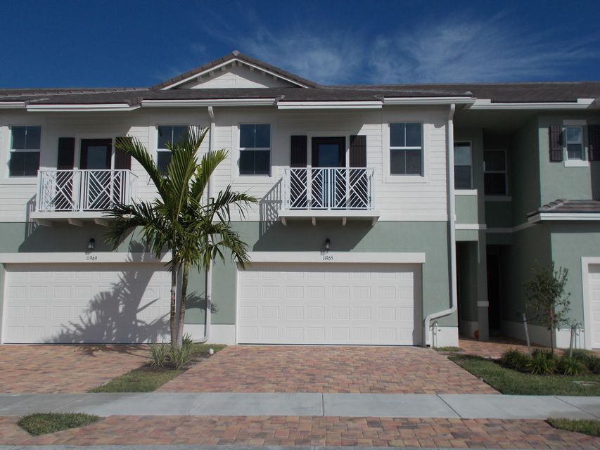 Townhouse for Sale at 11965 Park Central 11965 Park Central Royal Palm Beach, Florida 33411 United States