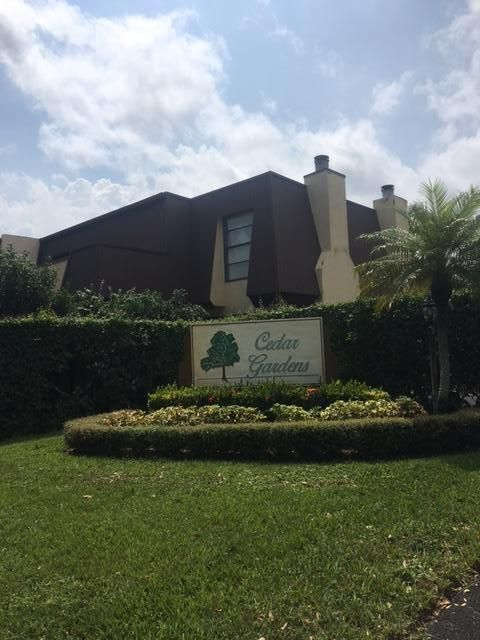 3548 Gardens East Drive A , Palm Beach Gardens FL 33410 is listed for sale as MLS Listing RX-10369301 2 photos