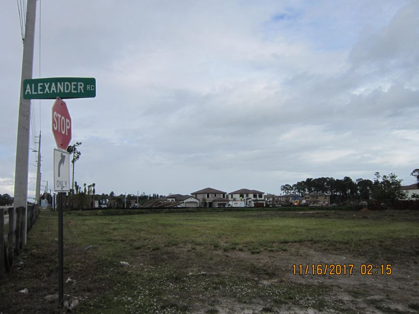 Land for Sale at 6479 Alexander Road West Palm Beach, Florida 33413 United States