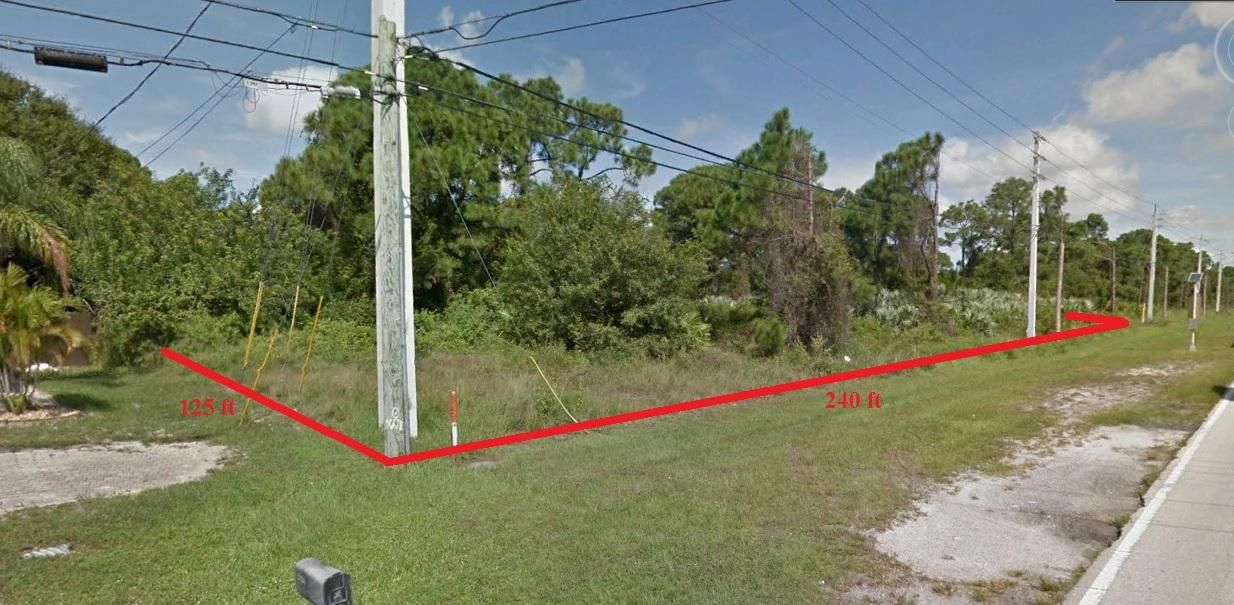 Land for Sale at 3426 SW Port St Lucie Street 3426 SW Port St Lucie Street Port St. Lucie, Florida 34953 United States