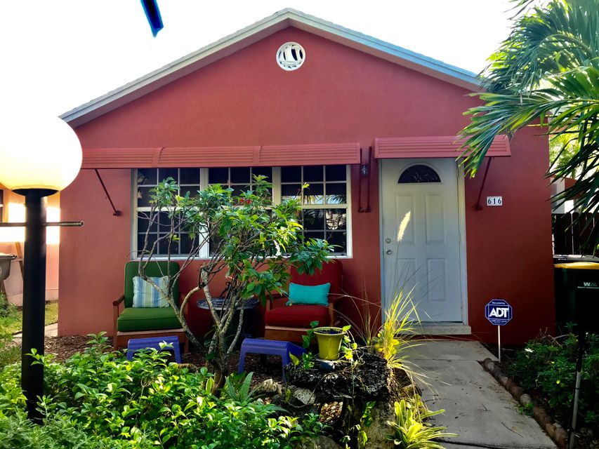 Single Family Home for Rent at 616 N C Street 616 N C Street Lake Worth, Florida 33460 United States