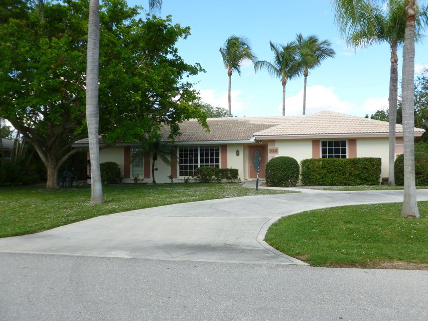 334 Fairway  Tequesta FL 33469