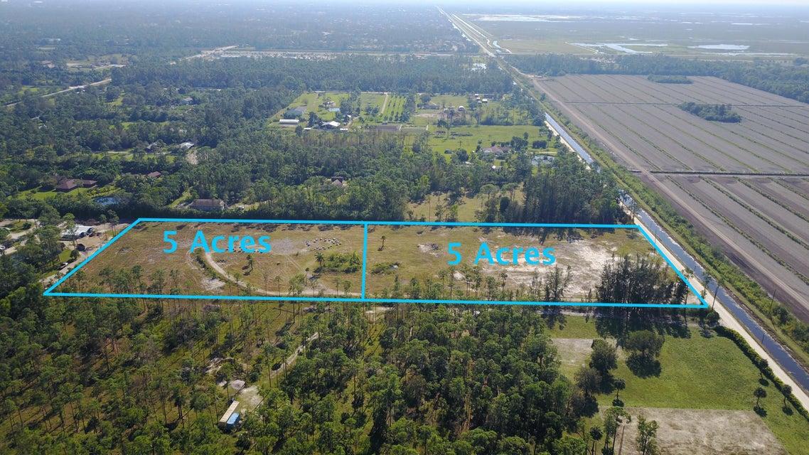Agricultural Land pour l Vente à 1140 A Road 1140 A Road Loxahatchee, Florida 33470 États-Unis