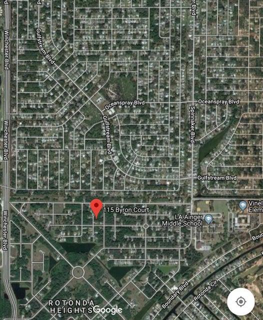 Casa Unifamiliar por un Venta en 115 Byron Court 115 Byron Court Rotonda West, Florida 33947 Estados Unidos