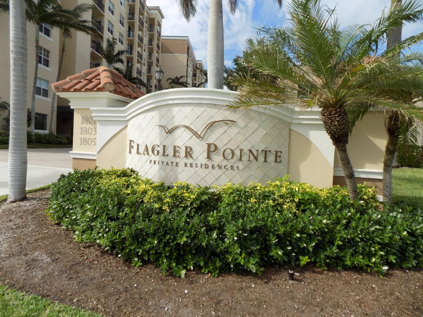 Condominium for Sale at 1801 N Flagler Drive # 410 1801 N Flagler Drive # 410 West Palm Beach, Florida 33407 United States