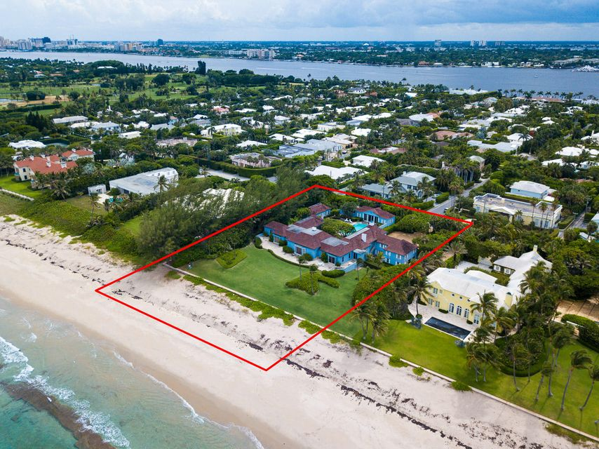 Single Family Home for Sale at 980 N Ocean Boulevard Palm Beach, Florida 33480 United States