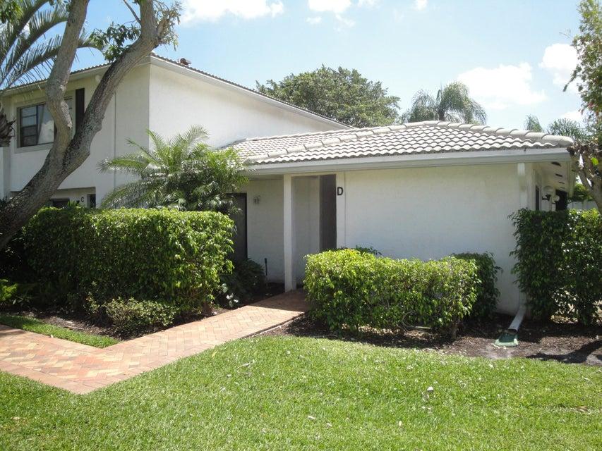 Villa for Sale at 22 Stratford Drive # D 22 Stratford Drive # D Boynton Beach, Florida 33436 United States