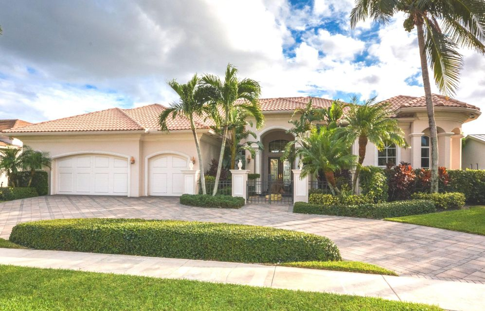 Single Family Home for Sale at 4820 Cherry Laurel Lane 4820 Cherry Laurel Lane Delray Beach, Florida 33445 United States