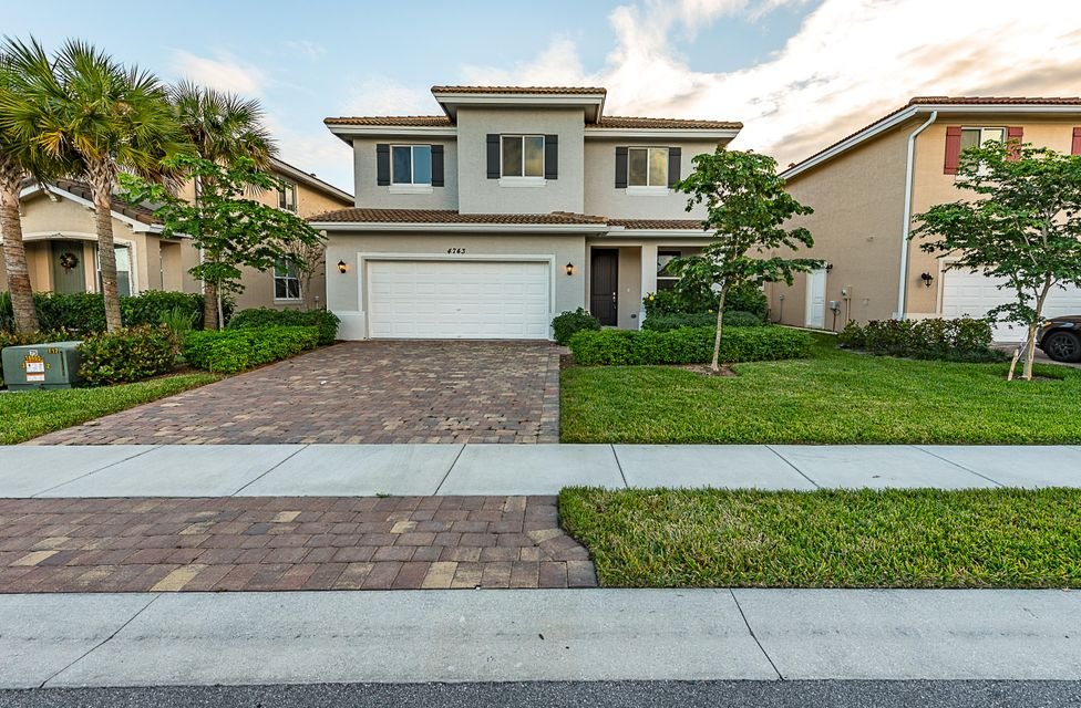 Single Family Home for Sale at 4743 Foxtail Palm Court 4743 Foxtail Palm Court Greenacres, Florida 33463 United States