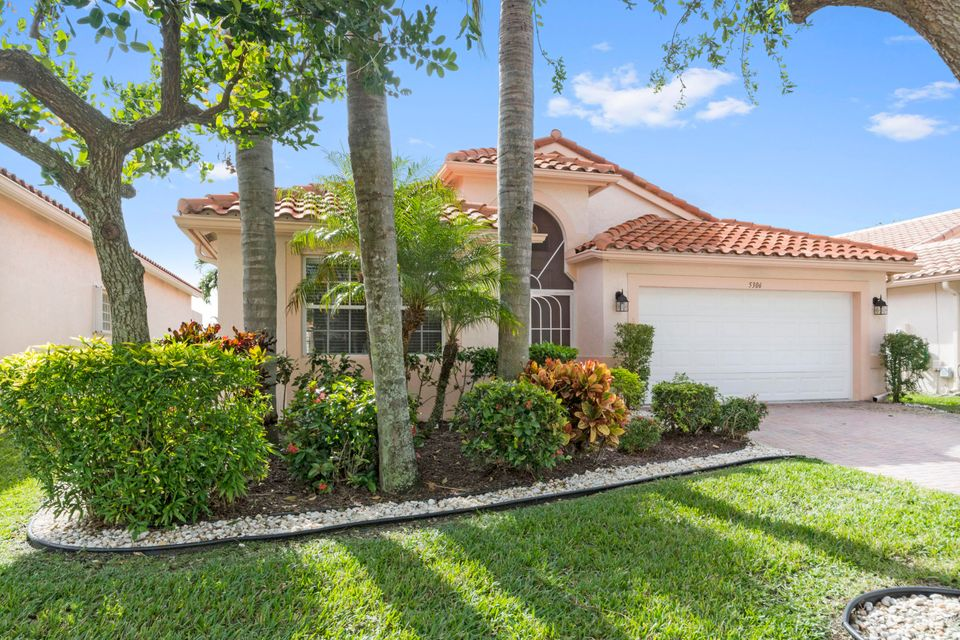 Cascade Lakes home 5306 Grey Birch Lane Boynton Beach FL 33437