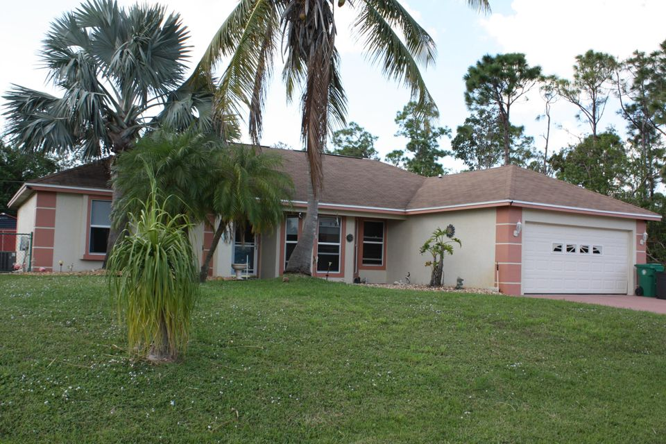 Single Family Home for Sale at 2434 SW Avondale Street 2434 SW Avondale Street Port St. Lucie, Florida 34984 United States