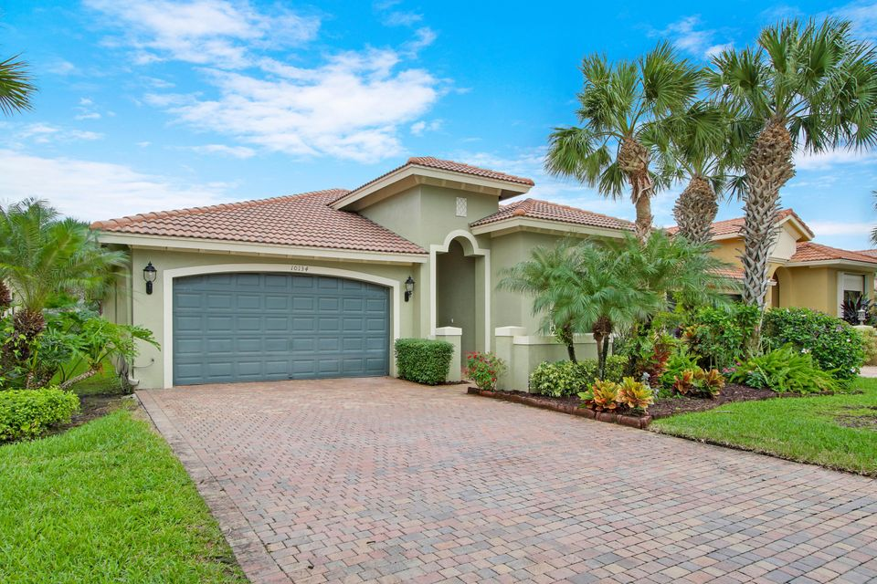TIVOLI LAKES PUD home 10134 Noceto Way Boynton Beach FL 33437