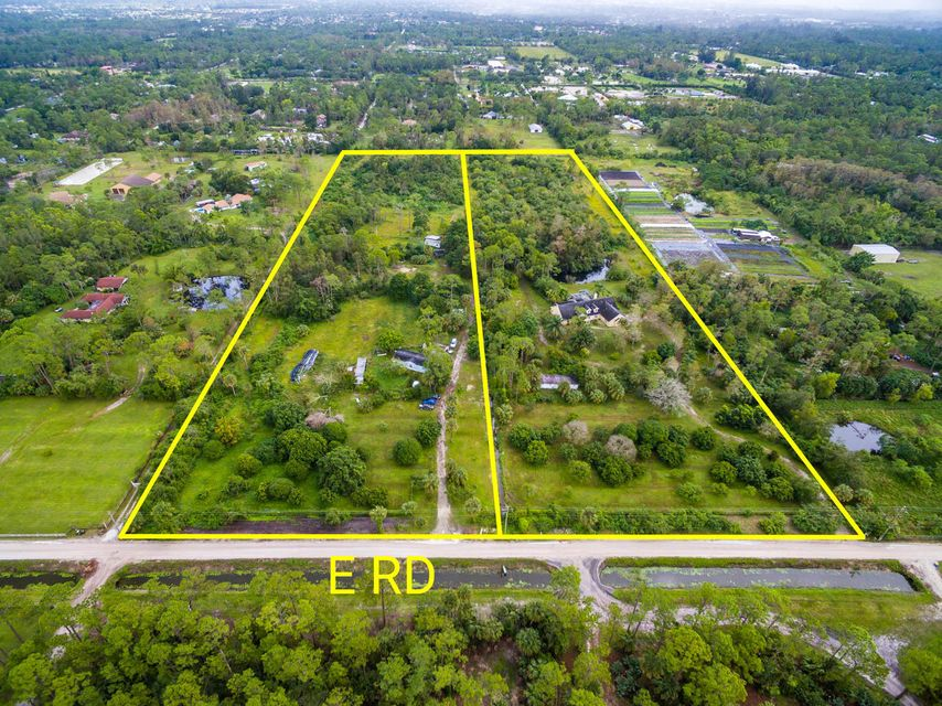 Single Family Home for Sale at 1472/1538 E Road 1472/1538 E Road Loxahatchee Groves, Florida 33470 United States