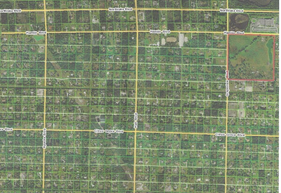 Land for Sale at 14311 87th Court 14311 87th Court Loxahatchee, Florida 33480 United States