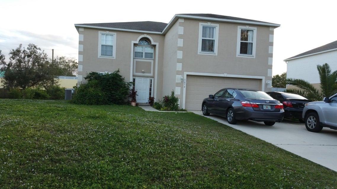 Частный односемейный дом для того Продажа на 1670 Norman Street 1670 Norman Street Palm Bay, Флорида 32907 Соединенные Штаты