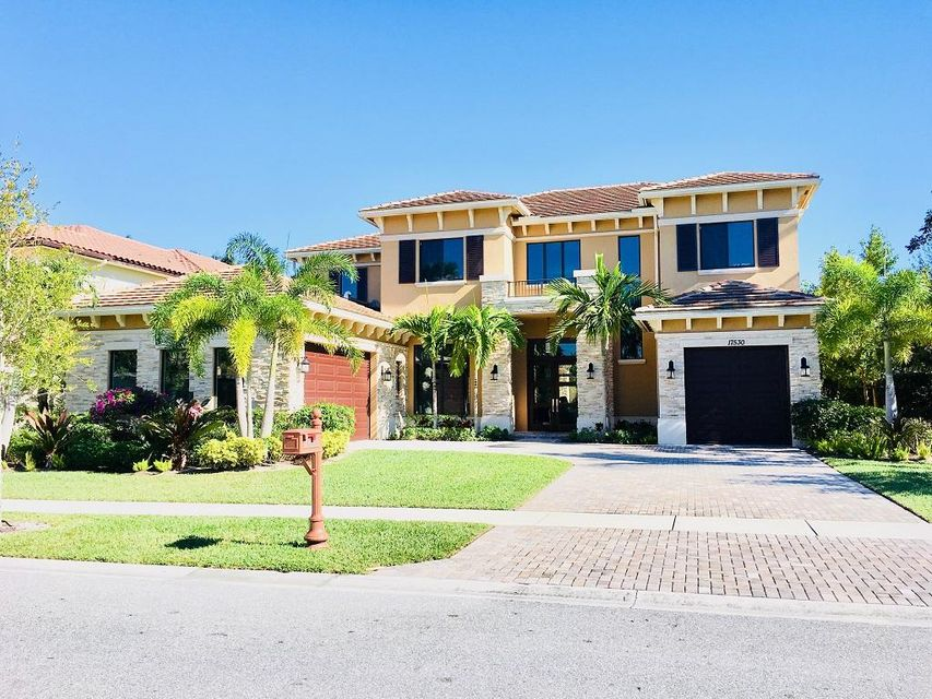 Single Family Home for Sale at 17530 Middlebrook Way 17530 Middlebrook Way Boca Raton, Florida 33496 United States