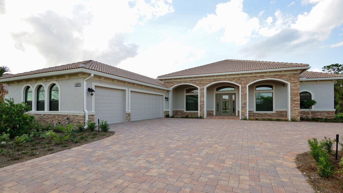 Single Family Home for Sale at 5187 SW Blue Daze Way Palm City, Florida 34990 United States