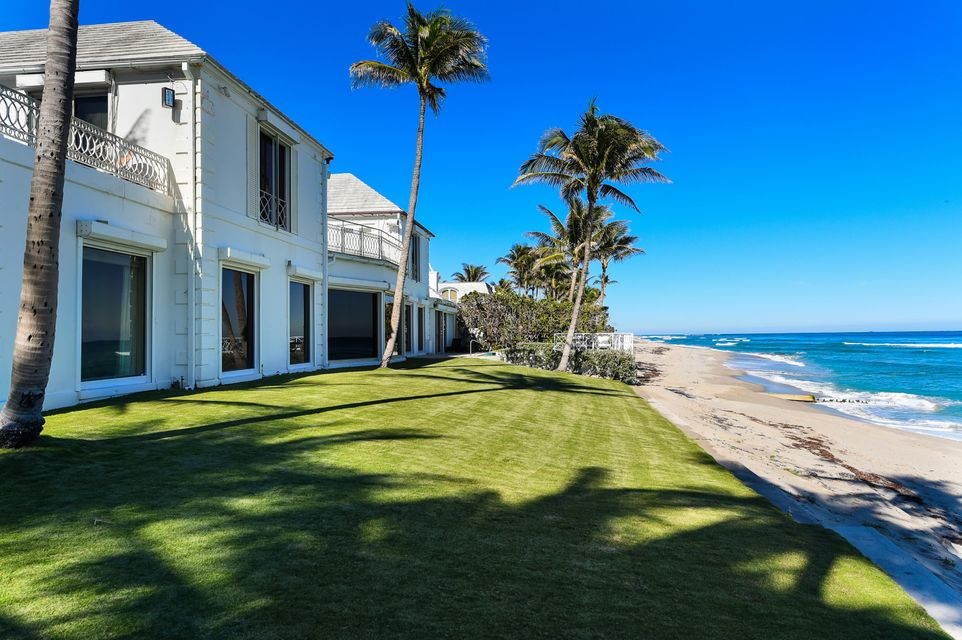 Single Family Home for Sale at 1125 S Ocean Boulevard 1125 S Ocean Boulevard Palm Beach, Florida 33480 United States