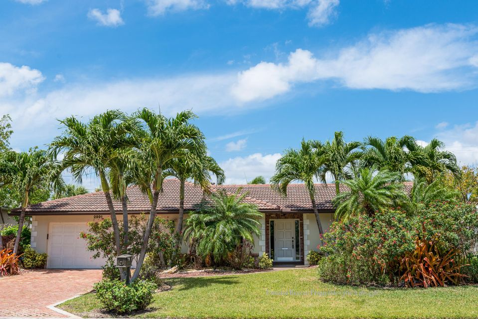 Single Family Home for Rent at 2991 Banyan Road 2991 Banyan Road Boca Raton, Florida 33432 United States