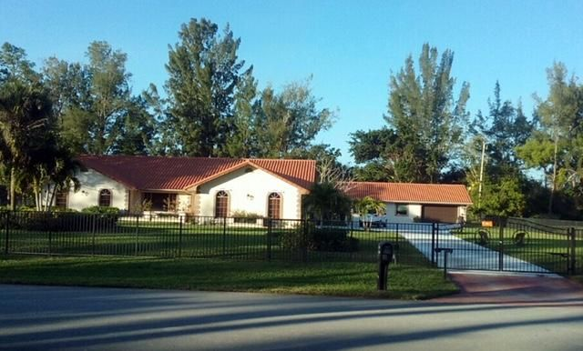 Single Family Home for Rent at 14870 Horseshoe Trace 14870 Horseshoe Trace Wellington, Florida 33414 United States