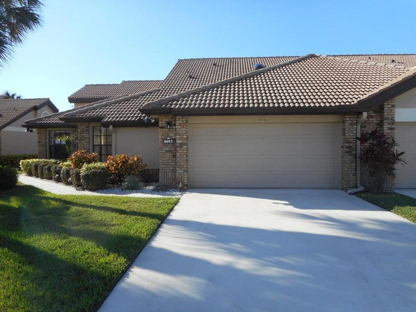 Villa for Sale at 8093 Cassia Drive Boynton Beach, Florida 33437 United States