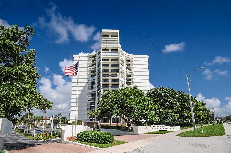 Кондоминиум для того Продажа на 4545 N Ocean Boulevard # 5A 4545 N Ocean Boulevard # 5A Boca Raton, Флорида 33431 Соединенные Штаты