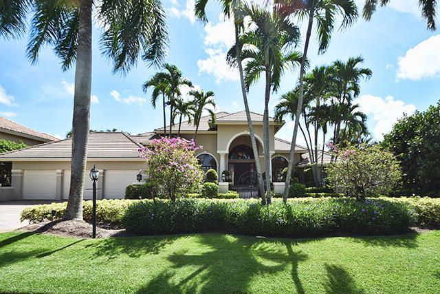 Single Family Home for Sale at 17030 Brookwood Drive Boca Raton, Florida 33496 United States