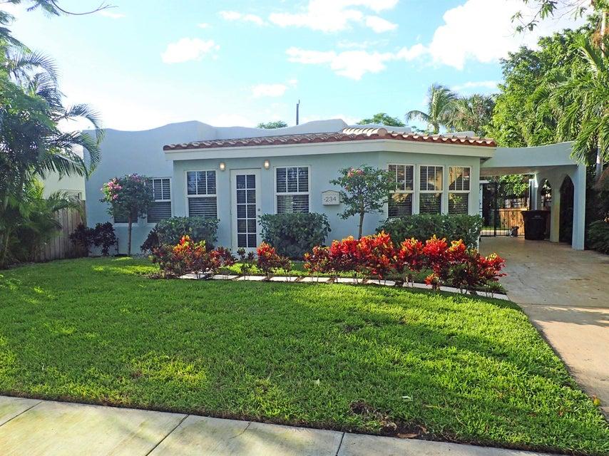 Single Family Home for Rent at 234 Pilgrim Road 234 Pilgrim Road West Palm Beach, Florida 33405 United States