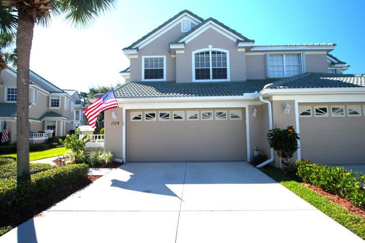 Townhouse for Sale at 1579 SW Harbour Isles Circle 1579 SW Harbour Isles Circle Port St. Lucie, Florida 34986 United States