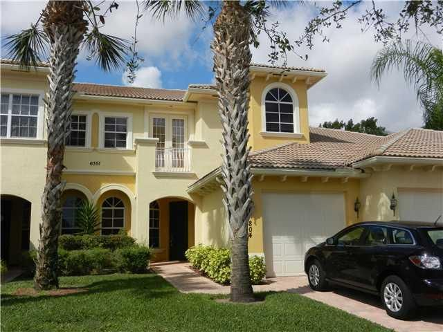 6421 Bella Circle  is listed as MLS Listing RX-10394500
