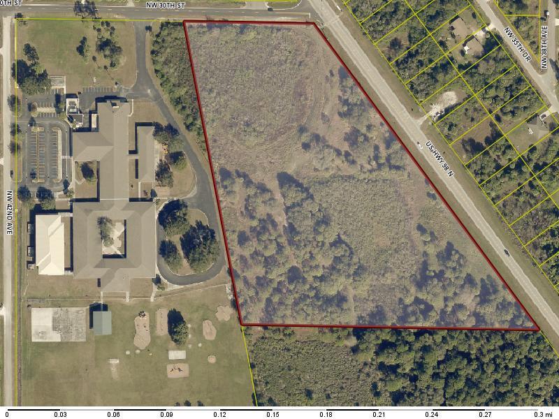 Земля для того Продажа на 2865 Hwy 98 2865 Hwy 98 Okeechobee, Флорида 34972 Соединенные Штаты