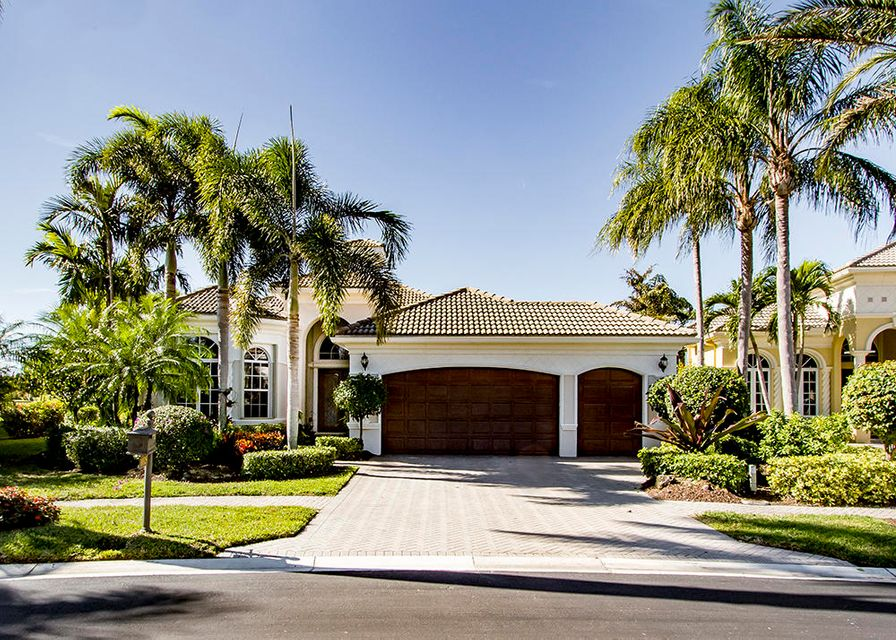 Single Family Home for Sale at 10325 Sand Cay Lane West Palm Beach, Florida 33412 United States