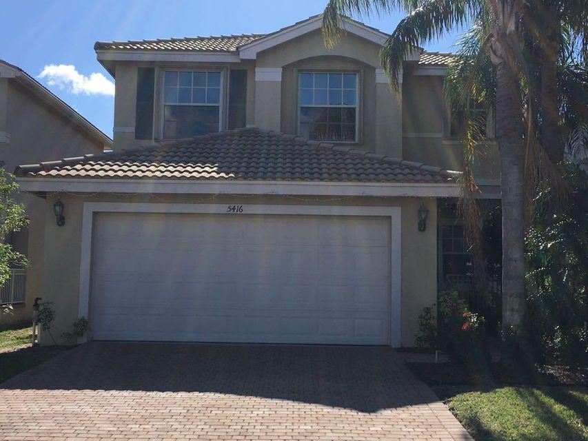 Single Family Home for Rent at 5416 Sunseeker Boulevard 5416 Sunseeker Boulevard Lake Worth, Florida 33463 United States