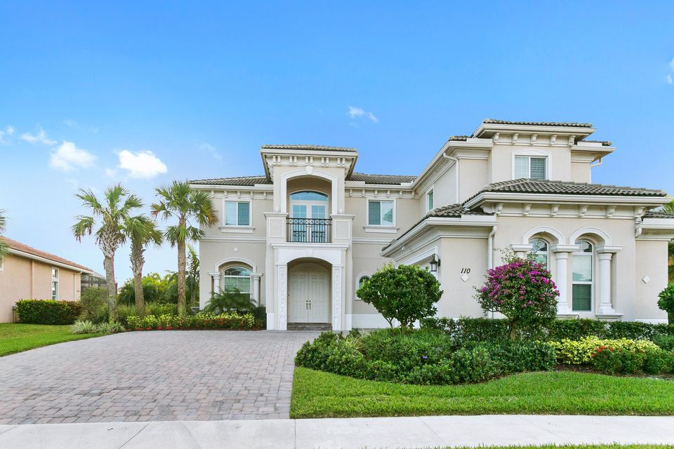 New Home for sale at 110 Sonata Drive in Jupiter