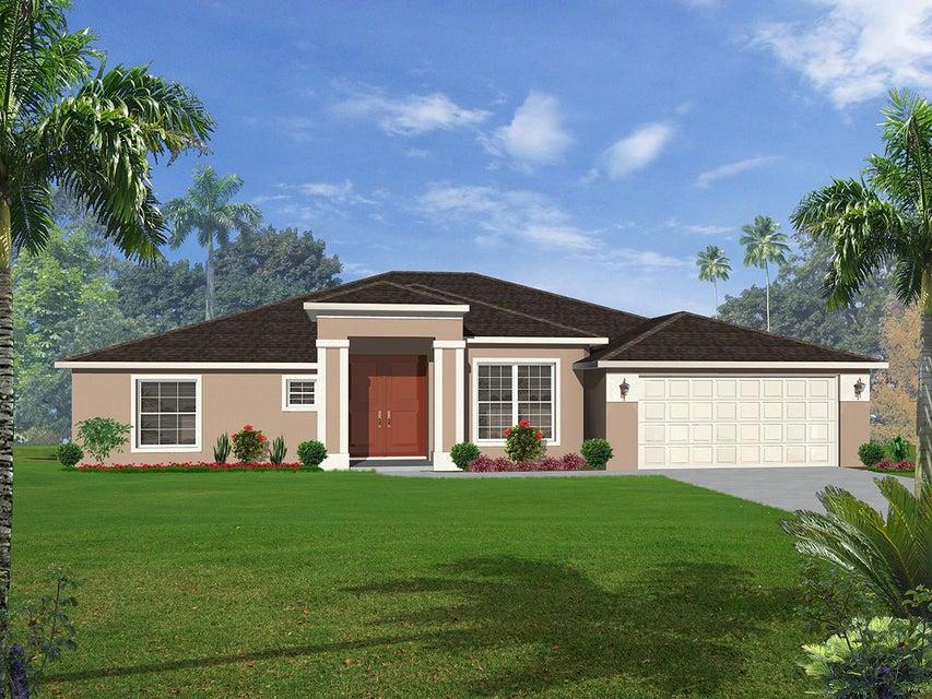 Maison unifamiliale pour l Vente à 4694 SW Obelisk Street 4694 SW Obelisk Street Port St. Lucie, Florida 34953 États-Unis