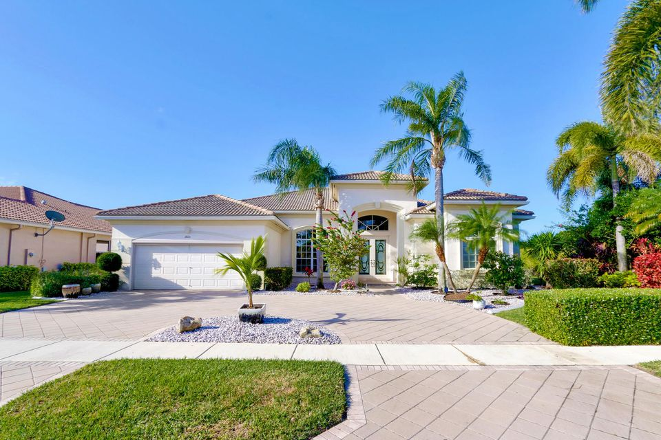 Home for sale in Madison Greene Royal Palm Beach Florida