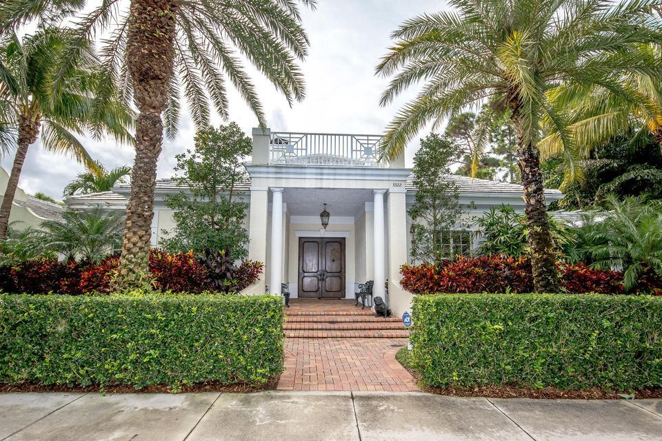 New Home for sale at 3322 Greenway Drive in Jupiter